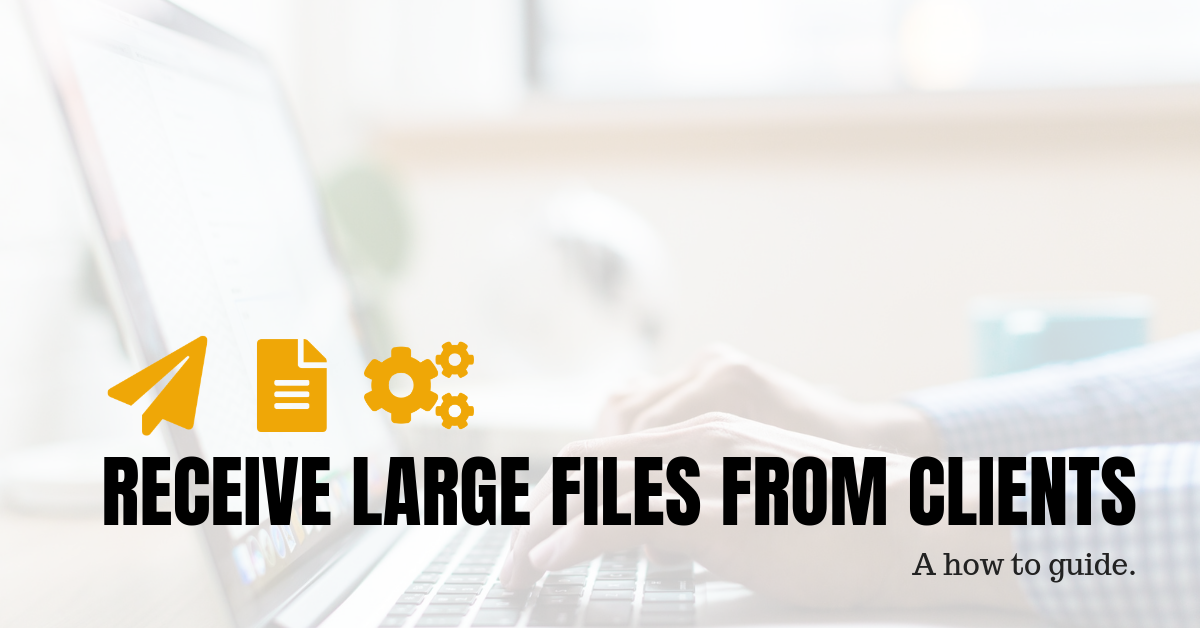 How to receive large files from clients